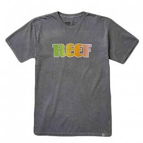 Reef Heritage logo T-Shirt - Faded Black