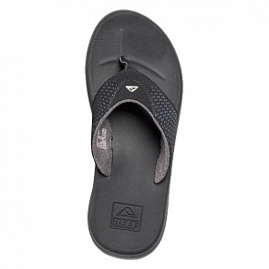 Reef Rover Sandals - Black - Top