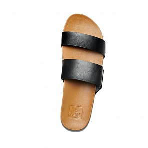 Reef Women's Cushion Bounce Vista Sandals - Black/Natural