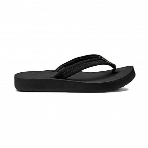 Reef Women's Cushion Breeze Sandals - Black/Black