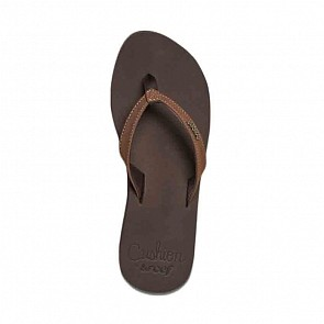 Reef Women's Cushion Luna Sandal - Brown