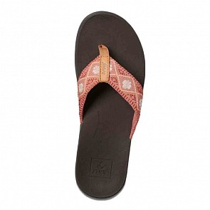 Reef Women's Ortho Bounce Woven Sandals - Dusty Coral