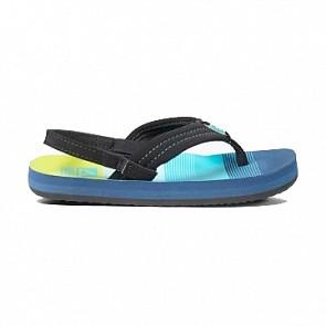 Reef Youth Little Ahi Sandals - Aqua/Green