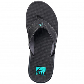 Reef Fanning Sandals - Neon Blue - top