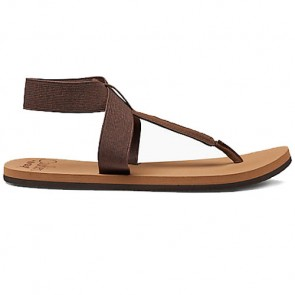 Reef Women's Cushion Moon Sandals - Brown