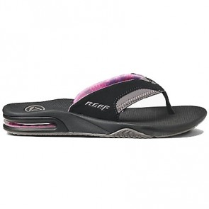 Reef Women's Fanning Sandals - Black/Grey