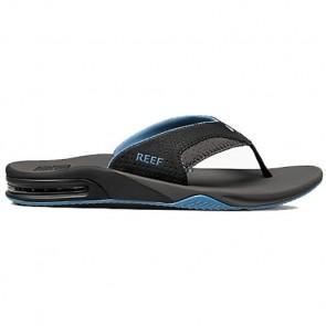Reef Fanning Sandals - Grey/Light Blue