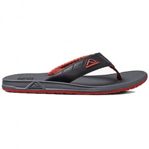 Reef Phantoms Sandals - Charcoal/Red
