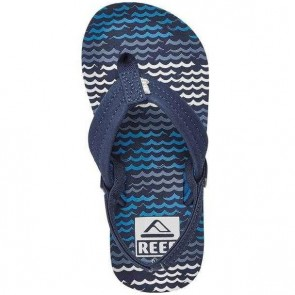 Reef Youth Ahi Sandals - Blue Horizon Waves