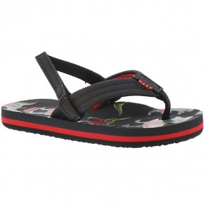 Reef Youth Ahi Sandals - Red T-Rex