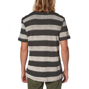 Reef Stripe It T-Shirt - Black
