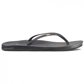 Reef Women's Cushion Bounce Slim Sandals - Black
