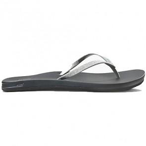 Reef Women's Cushion Bounce Stargazer Sandals - Silver