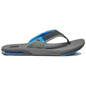 Reef Fanning Low Sandals - Grey/Blue