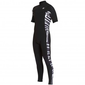 Billabong Furnace Revolution 2mm Wetsuit - Black Print