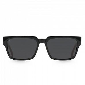 Raen Rhames Sunglasses - Crystal Black/Smoke