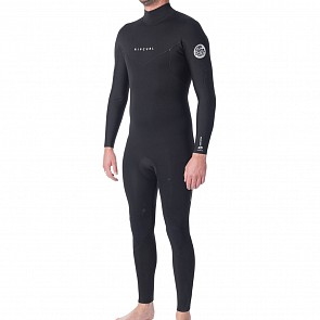Rip Curl Dawn Patrol 5/3 Back Zip Wetsuit - Black
