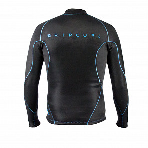 Rip Curl Aggrolite 1.5mm Long Sleeve Jacket - Black/Blue