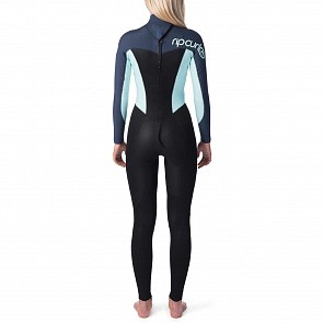 Rip Curl Women's Omega 3/2 Back Zip Wetsuit