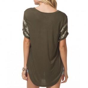 Rip Curl Women's Flashback T-Shirt - Army