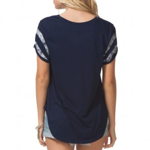 Rip Curl Women's Flashback T-Shirt - Blue