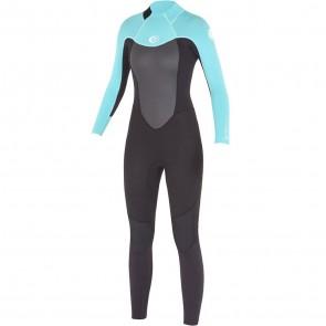 Rip Curl Women's Omega 3/2 Flatlock Back Zip Wetsuit