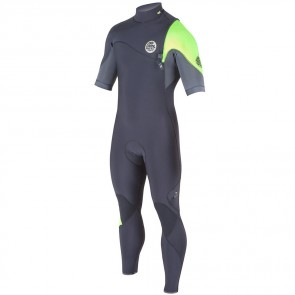 Rip Curl E-Bomb Pro 2/2 Zip Free Short Sleeve Wetsuit - 2015