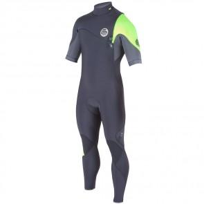 Rip Curl E-Bomb Pro 2/2 Zip Free Short Sleeve Wetsuit - 2015