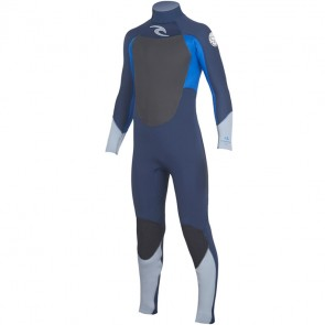 Rip Curl Youth Dawn Patrol 4/3 Back Zip Wetsuit - 2016