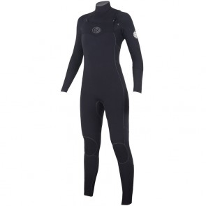 Rip Curl Women's Flash Bomb 4/3 Chest Zip Wetsuit - 2016