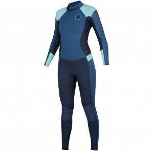 Rip Curl Women's Dawn Patrol 3/2 Back Zip Wetsuit - Dark Blue