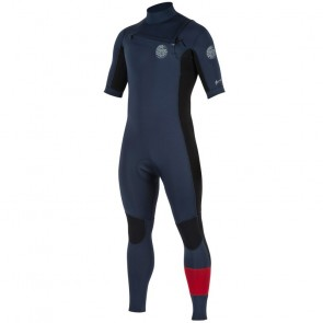 Rip Curl Aggrolite 2mm Short Sleeve Chest Zip Wetsuit