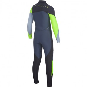 Rip Curl Youth Flash Bomb 4/3 Zip Free Wetsuit - 2016