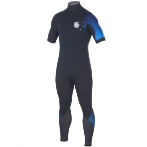Rip Curl E-Bomb Pro 2/2 Short Sleeve Zip Free Wetsuit - 2017
