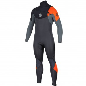 Rip Curl E-Bomb 3/2 Chest Zip Wetsuit - Orange