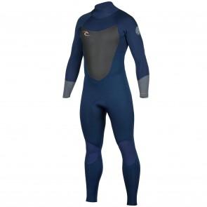 Rip Curl Dawn Patrol 4/3 Back Zip Wetsuit - Navy