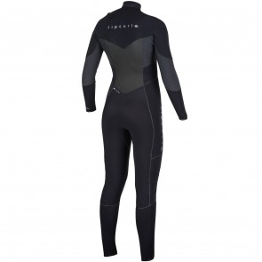 Rip Curl Women's Flash Bomb 4/3 Chest Zip Wetsuit Taped - Spring 2018
