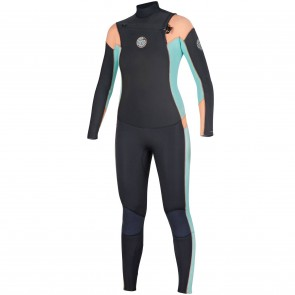 Rip Curl Women's Dawn Patrol 3/2 Chest Zip Wetsuit - 2017