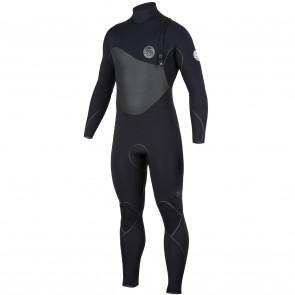 Rip Curl Flash Bomb Plus 3/2 Zip Free Wetsuit - Black