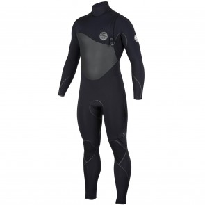 Rip Curl Flash Bomb Plus 3/2 Zip Free Wetsuit - Black