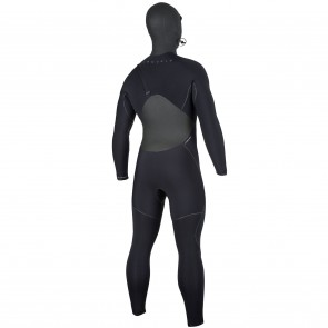 Rip Curl Flash Bomb Plus 6/4 Hooded Zip Free Wetsuit