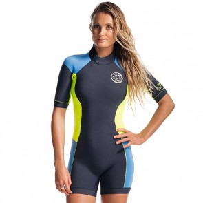 Rip Curl Women's Dawn Patrol Short Sleeve Spring Wetsuit - 2017