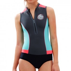 Rip Curl Women's G-Bomb Cap Sleeve Spring Wetsuit - 2016