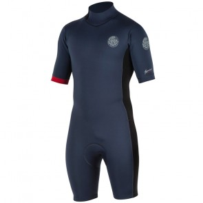 Rip Curl Aggrolite 2mm Short Sleeve Back Zip Spring Suit