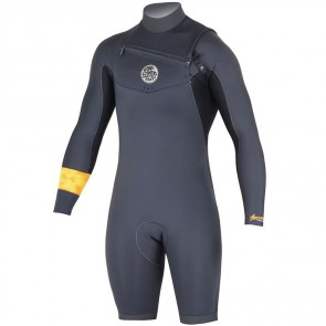 Rip Curl Aggrolite Long Sleeve Chest Zip Spring Suit - 2016
