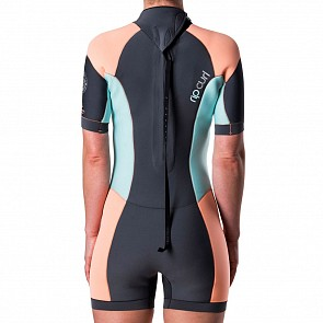 Rip Curl Women's Dawn Patrol 2mm Short Sleeve Back Zip Spring Wetsuit - 2018