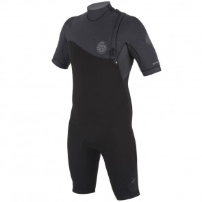Rip Curl E-Bomb Pro 2mm Short Sleeve Zip Free Spring Wetsuit