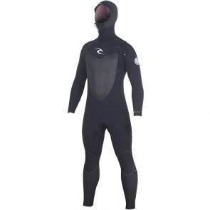 Rip Curl Flash Bomb 5.5/4 Hooded Wetsuit - Black