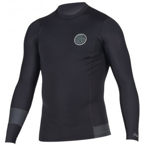 Rip Curl Wetsuits Aggrolite 1.5mm Long Sleeve Jacket - Charcoal