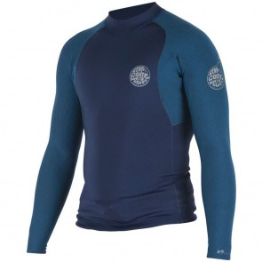 Rip Curl Wetsuits E-Bomb Pro 1.5mm Long Sleeve Jacket - Navy